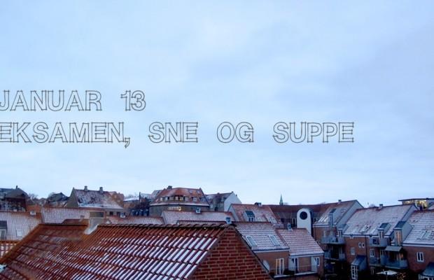 DORTES KARTOFFELSUPPE på en kold januar søndag…