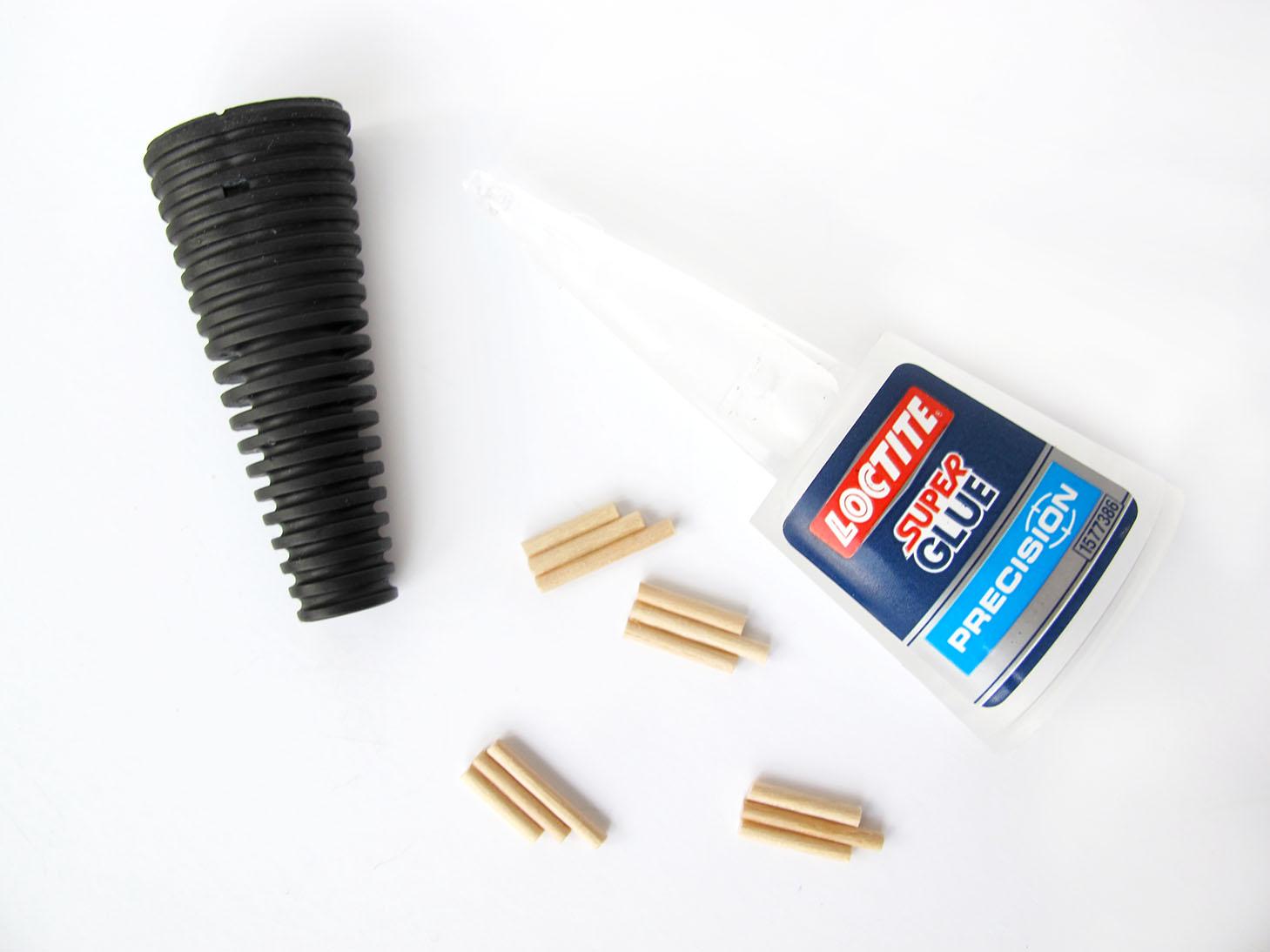 lim og tandstikker