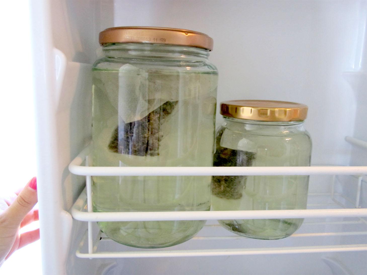 teen i køleskabet