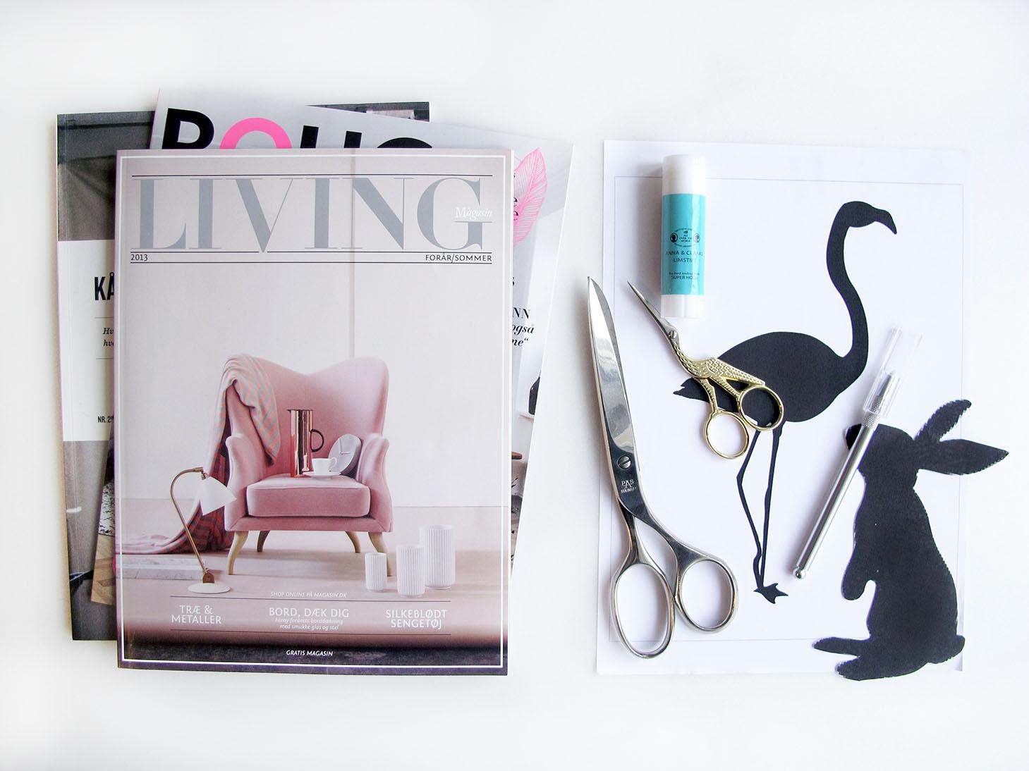 magasiner og skabeloner til collage