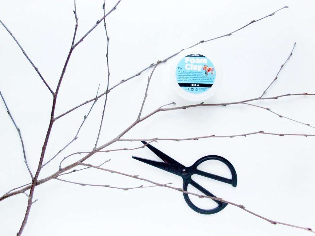 vintergrene formclay og ikea saks