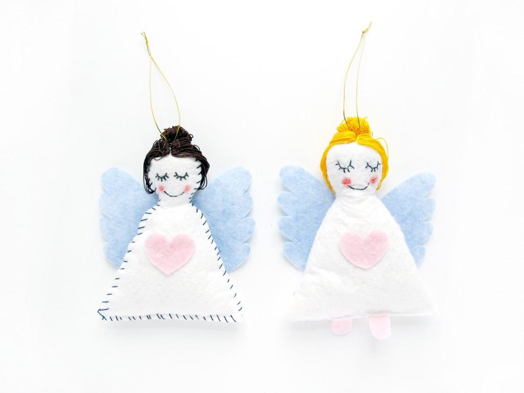 de færdige engle i karklude