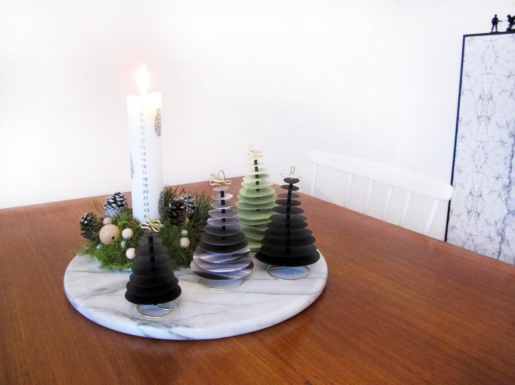 juledekorationen