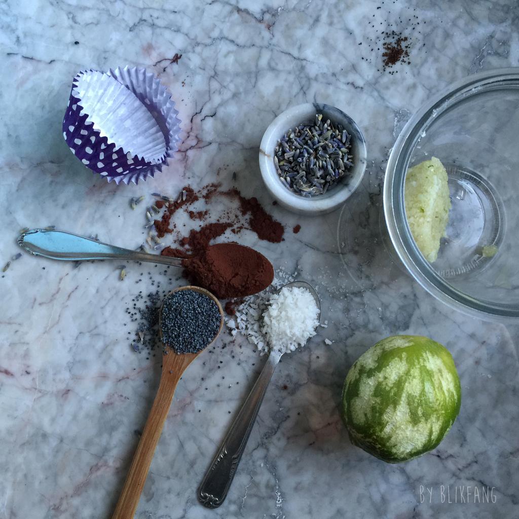 ingredienser til hjemmelavet naturlig scrub