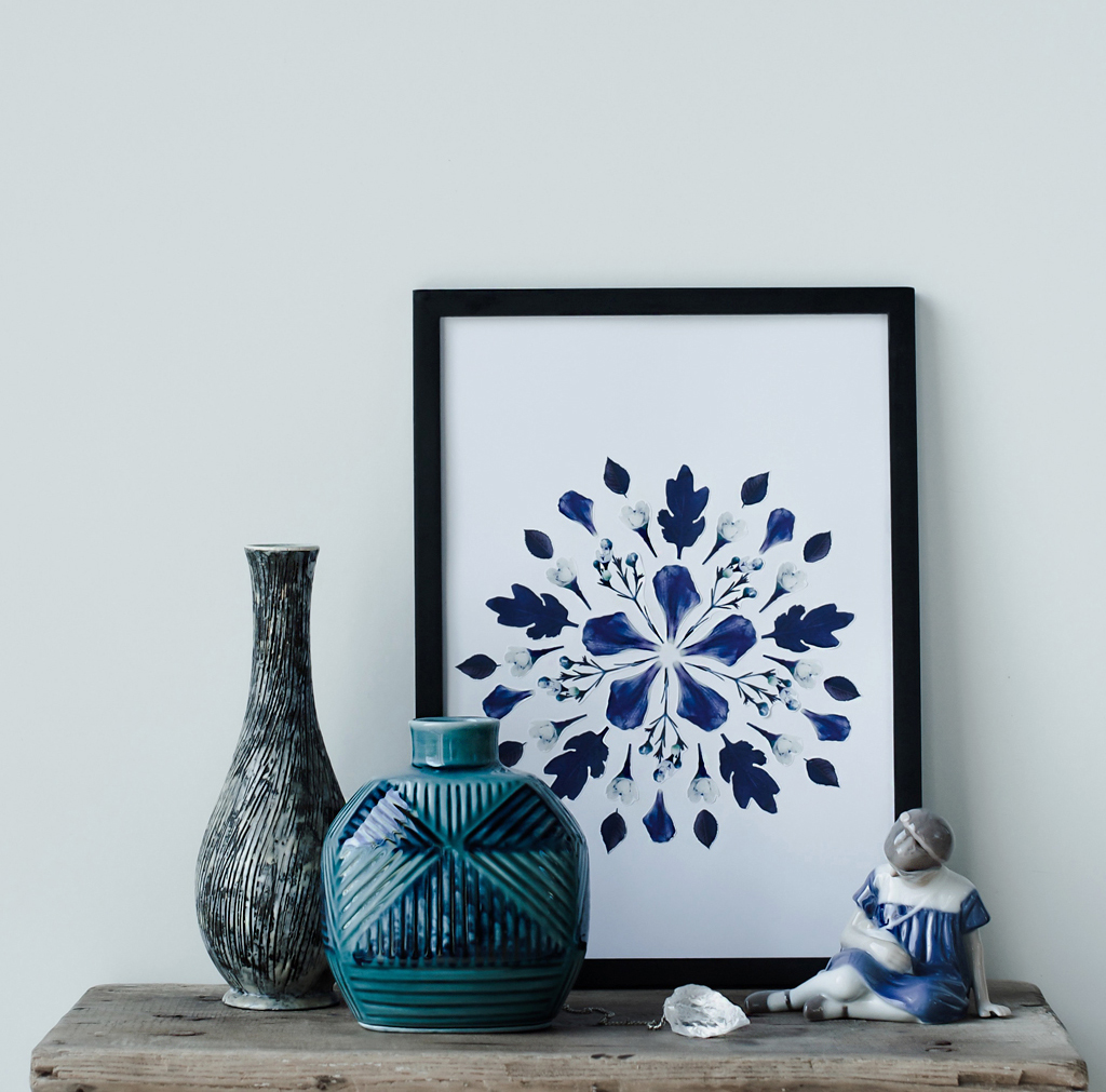 diy printable floral art