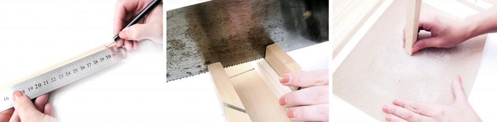 step by step guide til diy projekt ramme i træ
