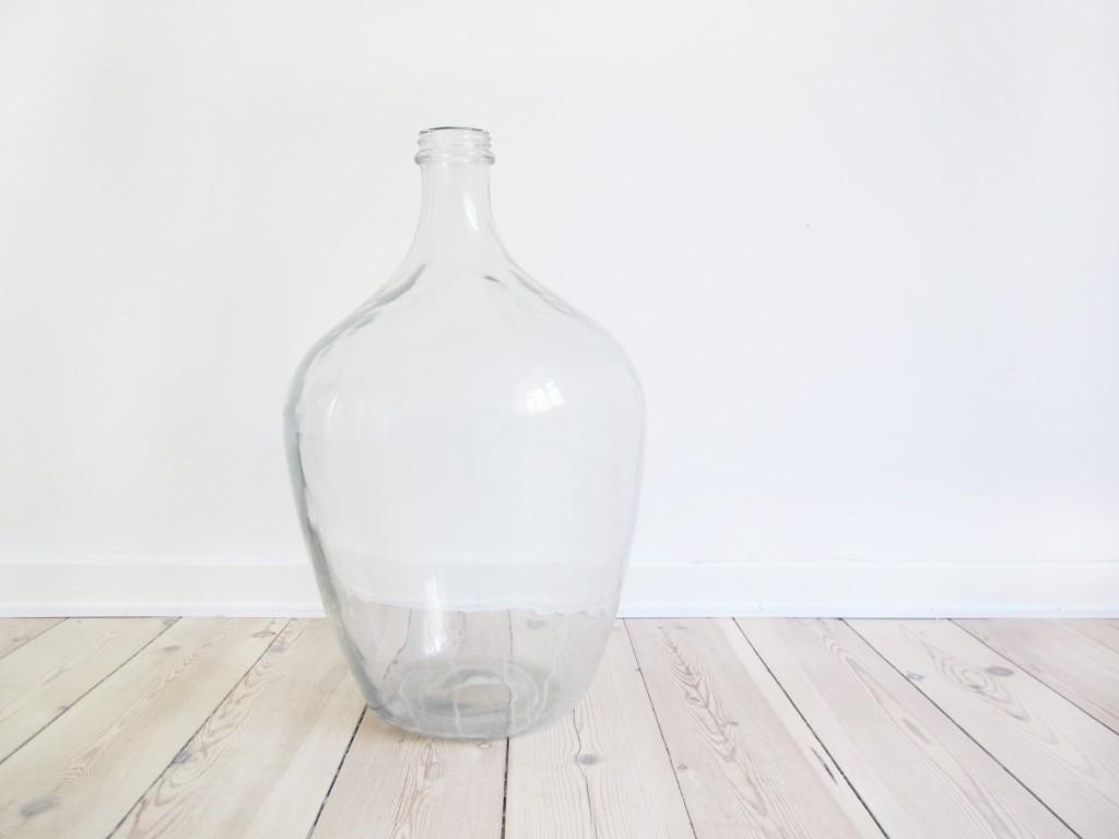 vinballon før der blev tegnet på den