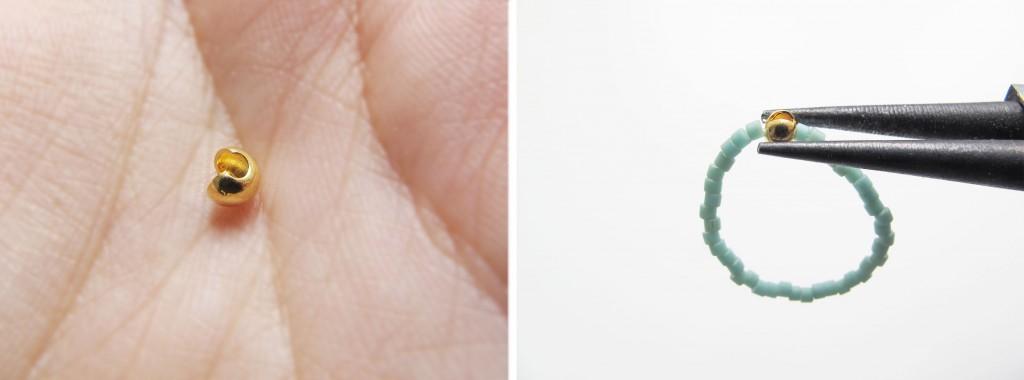 guide til at lave ringe med delicar perler
