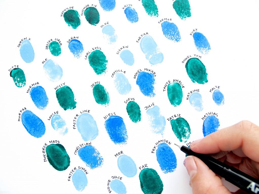 fingeraftryk til print-selv illustration