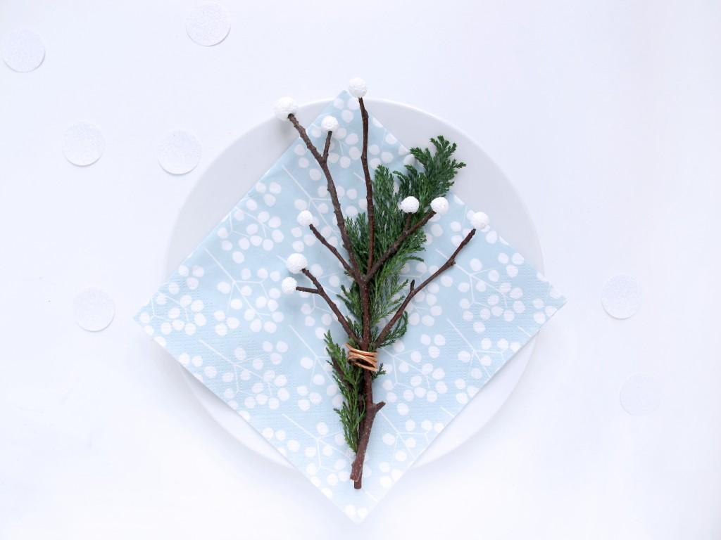 bord pynt til julebordet