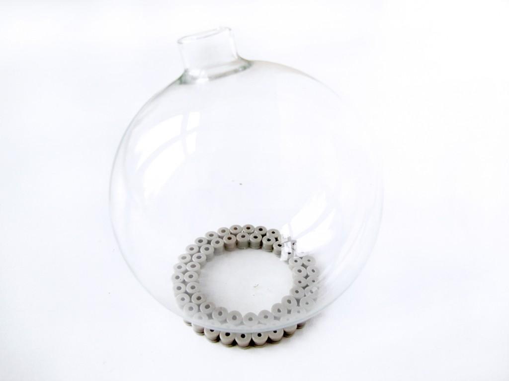 vase med hama perler