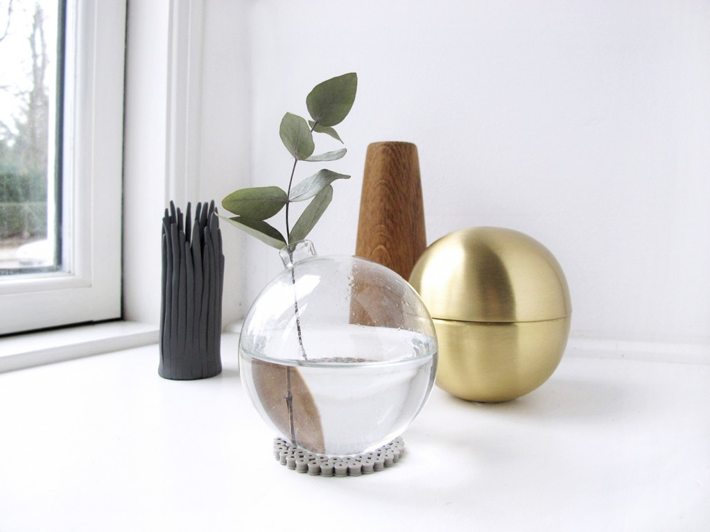 diy vase, applicata vase, skjalm p kugle