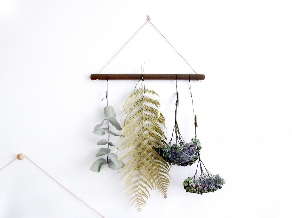 botanisk trend diy. gør det selv