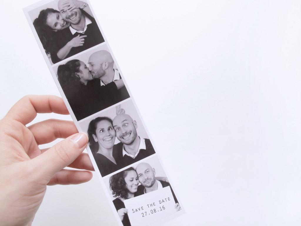 fotostribe til bryllups invitationerne