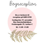 INVITATION TIL BOGRECEPTION