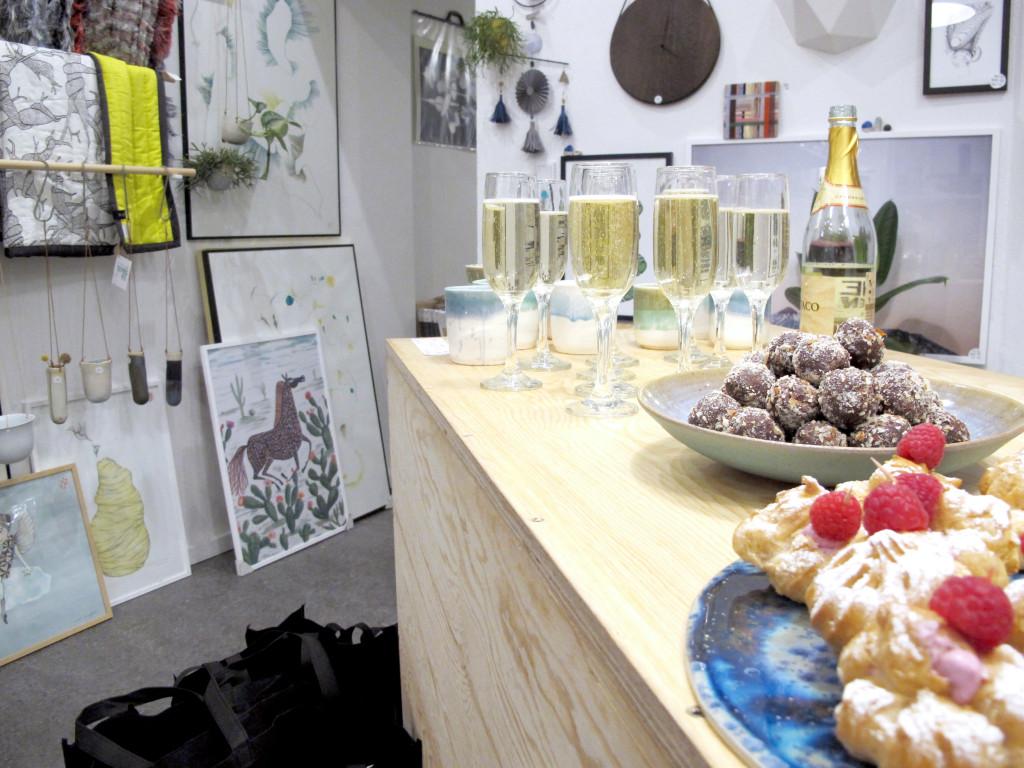 reception kreatid i interiørfabrikken kjærs kaffebar