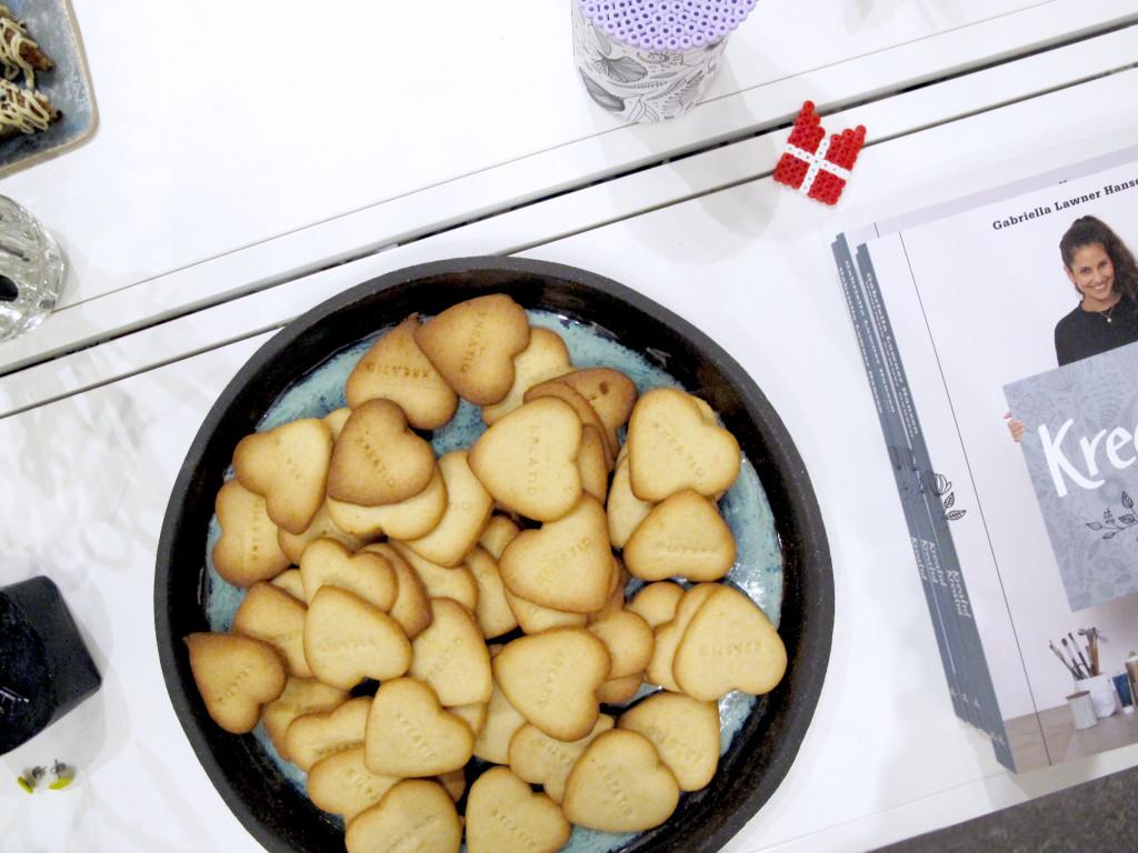 kreatid reception småkager med stempler