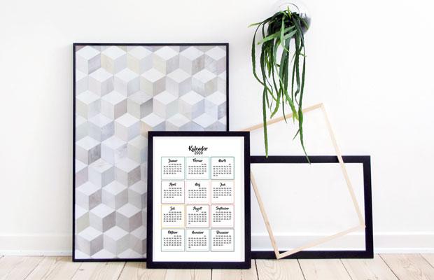Print-selv kalender 2020 – Den perfekte gaveidé fuld af oplevelser og små overraskelser